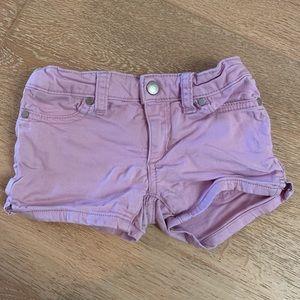 Joe's Jeans lilac jean shorts